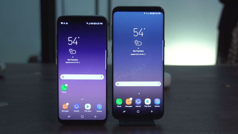Galaxy S8 and Glalaxy S8 Plus