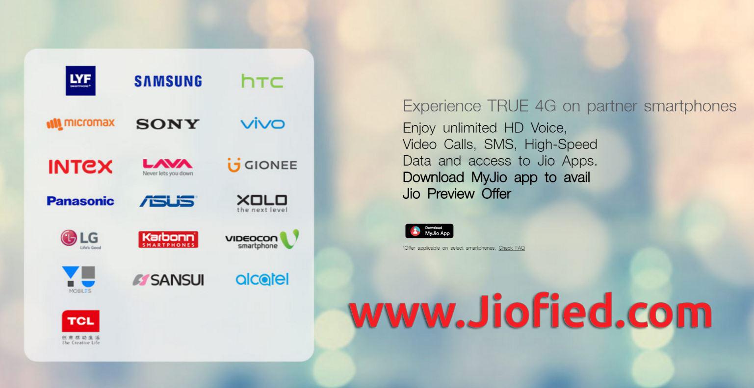 Reliance Jio 4G SIM offer