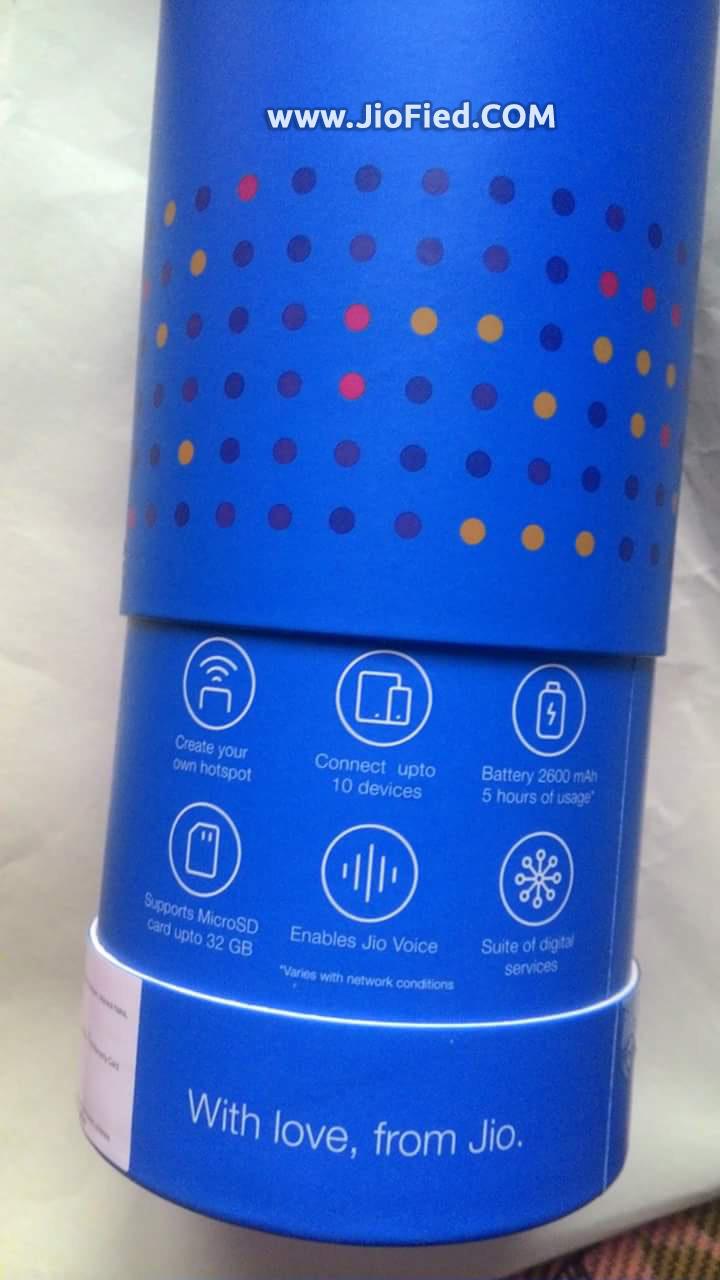 New JioFi 4G Hotspot